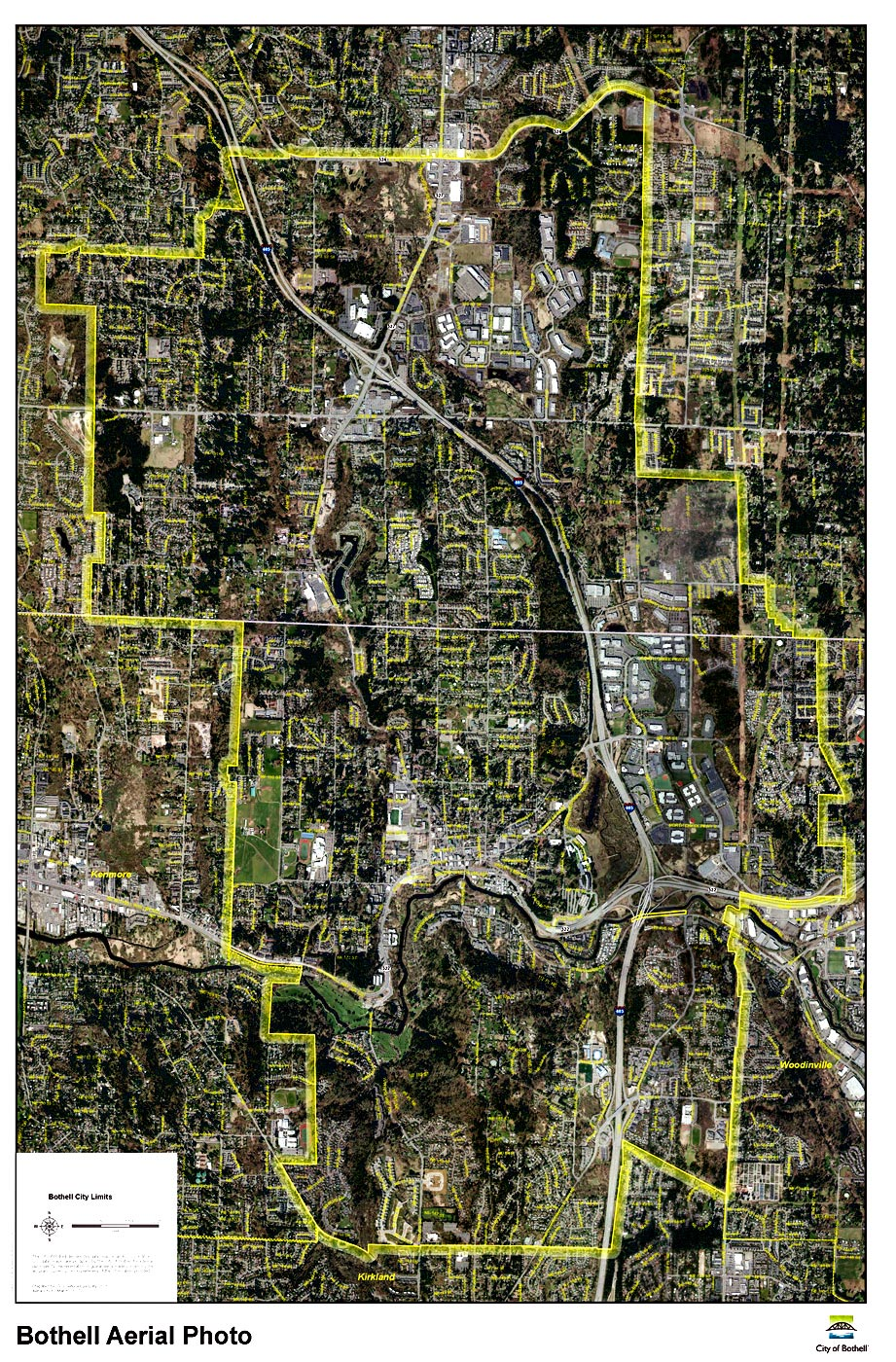 Bothell City Boundary Map